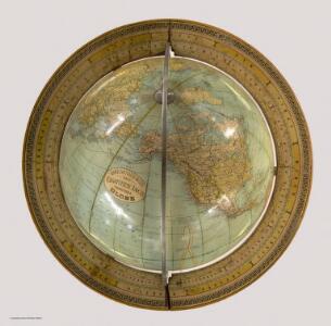Rand, McNally & Co's. New Eighteen Inch Terrestrial Globe.