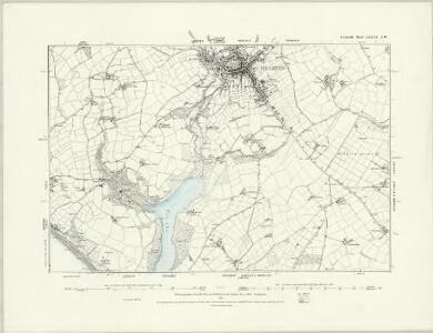 Cornwall LXXV.NE - OS Six-Inch Map