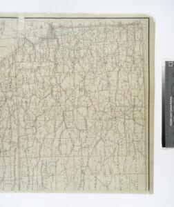 Post route map of the states of Kansas and Nebraska : showing post offices with the intermediate distances and mail routes in operation on the 1st of December, 1900 / published by order of Postmaster General Charles Emory Smith under the direction of ...