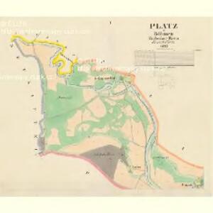 Platz - c7407-1-001 - Kaiserpflichtexemplar der Landkarten des stabilen Katasters