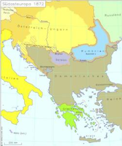 Südosteuropa 1872