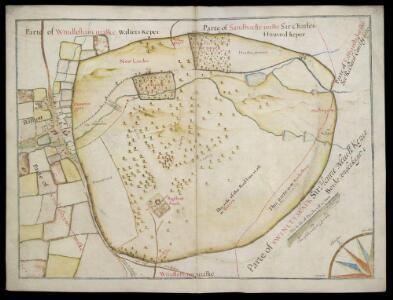 Map of Bagshott Parke
