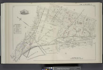 Vol. 6. Plate, C. [Map bound by Manhattan Ave., Leonard St., Van Cott Ave., North 14th St., Franklin St., Calyer St.; Including Lorimer St., Guernsey St., Dobbin St., Banker St., Gem St., West St., North 15th St., Quay St., Meserole Ave., Norman Ave., 2n