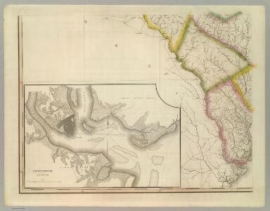 Map Of South Carolina (southwest portion)