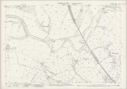 Cheshire XXXIII.2 (includes: Acton Bridge; Aston; Crowton; Dutton; Kingsley) - 25 Inch Map