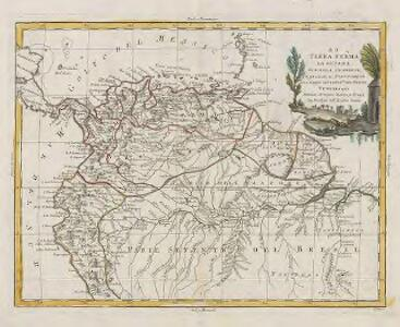 La Terra Ferma. La Gujana Spagnola, olandese, Francese e Portuguese