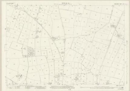 Derbyshire LIII.7 (includes: Church Broughton; Foston and Scropton; Hatton; Hoon) - 25 Inch Map