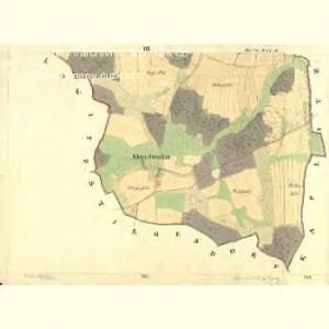 Gross Strodau - c7368-1-003 - Kaiserpflichtexemplar der Landkarten des stabilen Katasters