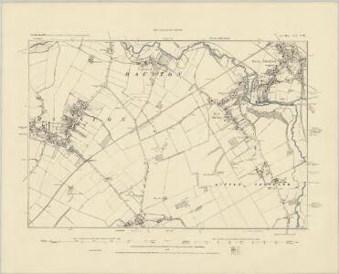 Cambridgeshire LIV.SE - OS Six-Inch Map