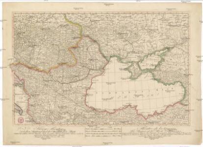 Kriegs Theater zwischen Russland und der Ottomanischen Pforte
