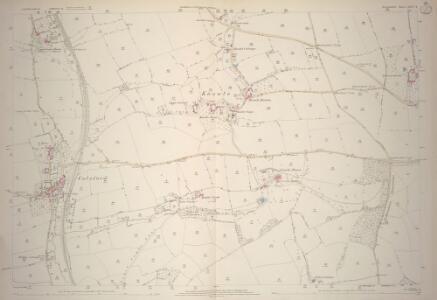 Devon LXVI.4 (includes: Colebrooke; Crediton Hamlets) - 25 Inch Map