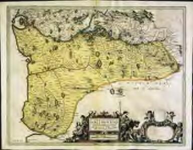 Præfectvra Kircvbriensis, quæ Gallovidiæ maxime orientalis pars est