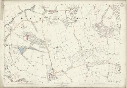 Worcestershire XXVI.1 (includes: Bockleton; Kyre) - 25 Inch Map