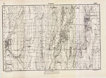 Lambert-Cholesky sheet 5158 (Plevna)
