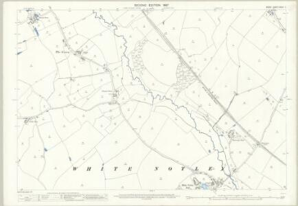 Essex (1st Ed/Rev 1862-96) XXXIV.7 (includes: Cressing; White Notley) - 25 Inch Map