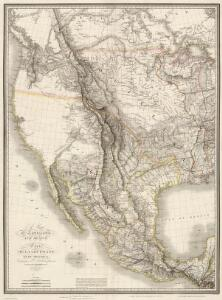 Composite:  Map of Louisiana and Mexico.
