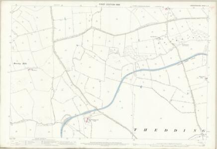 Leicestershire L.5 (includes: Husbands Bosworth; Laughton; Mowsley; Theddingworth) - 25 Inch Map