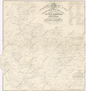 Administrativ Karte der Hochfürstlich Schwarzenberg ́schen Herrschaft Winterberg...