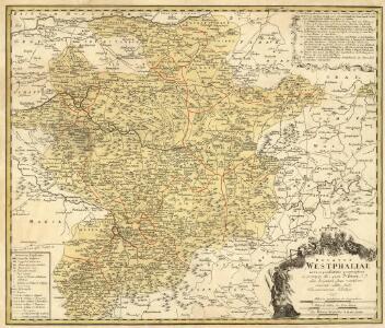 Ducatvs Westphaliae nova repraesentatio geographica