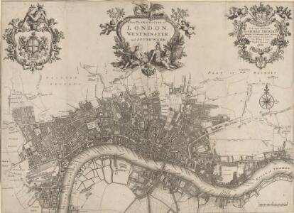A new PLAN of LONDON, WESTMINSTER and SOUTHWARK 85