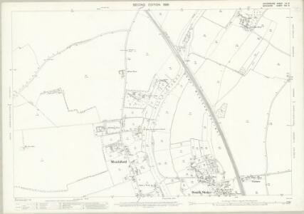 Oxfordshire LII.6 (includes: Checkendon; Cholsey; Moulsford; South Stoke) - 25 Inch Map
