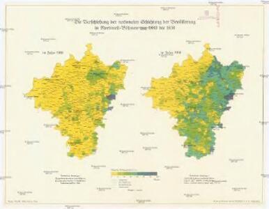 Die Verschiebung der nationalen Schichtung der Bevölkerung in Nordwest-Böhmen von 1880 bis 1930