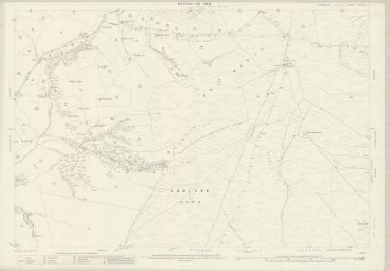 Yorkshire CXXXIII.10 (includes: Bordley; Calton; Flasby With Winterburn; Hanlith; Hetton; Malham) - 25 Inch Map
