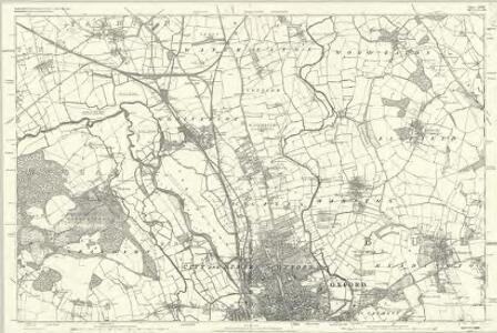 Oxfordshire V - OS Six-Inch Map