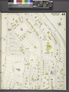 Richmond, Plate No. 48 [Map bounded by St. Marks Pl., Richmond Terrace East, Jay St., Fort St., Westervelt Ave.]