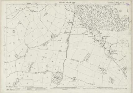Shropshire XLV.9 (includes: Albrighton; Brewood; Codsall; Donington) - 25 Inch Map