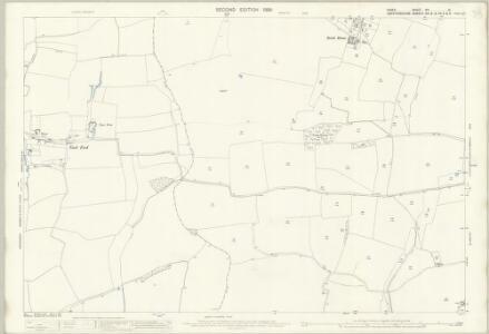 Essex (1st Ed/Rev 1862-96) XIII.14 (includes: Berden; Furneux Pelham; Manuden; Stocking Pelham) - 25 Inch Map