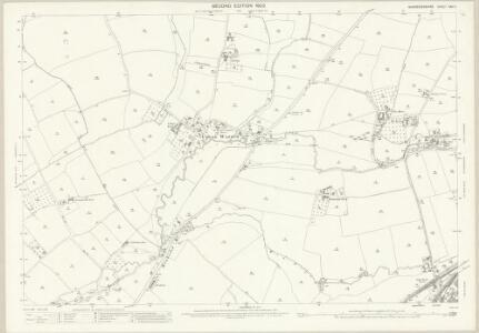 Worcestershire XXII.7 (includes: Dodderhill; Stoke Prior; Upton Warren) - 25 Inch Map