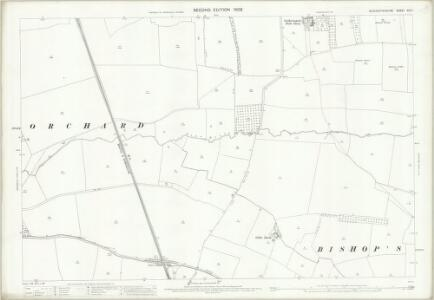 Gloucestershire XIX.7 (includes: Bishops Cleeve; Gotherington; Stoke Orchard) - 25 Inch Map