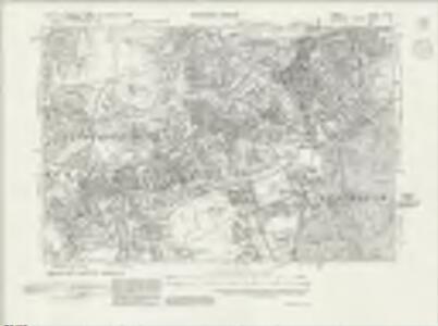 Surrey VI.NE - OS Six-Inch Map