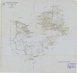 Mapa planimètric d'Olius