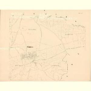 Chumen (Chumena) - c2519-1-002 - Kaiserpflichtexemplar der Landkarten des stabilen Katasters