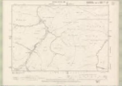 Selkirkshire Sheet XXI.NW - OS 6 Inch map