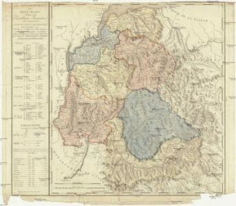 Le département du Mont-Blanc