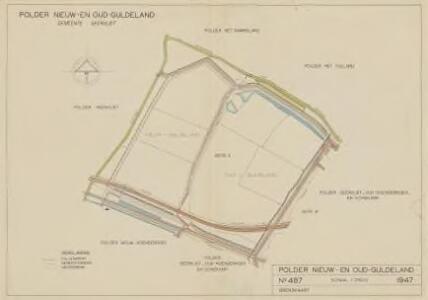 Polder Nieuw- en Oud-Guldeland, gemeente Geervliet.