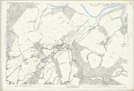 Cornwall LXXVI.16 (includes: Constantine; Mawgan in Meneage; St Martin in Meneage) - 25 Inch Map