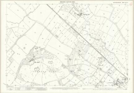 Nottinghamshire XXIX.15 (includes: Halam; Southwell) - 25 Inch Map