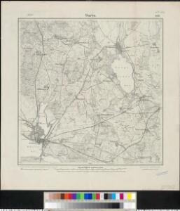 Meßtischblatt 1046 : Waren, 1911