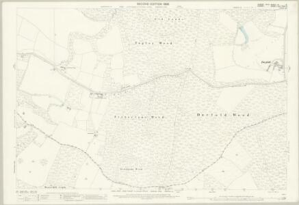 Sussex XI.4 (includes: Chiddingfold; Dunsfold; Plaistow) - 25 Inch Map