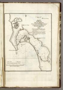 Plano del Puerto de S Diego.
