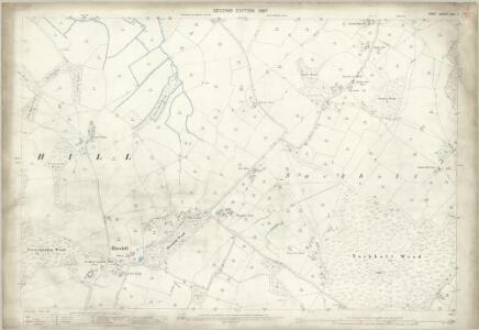 Kent LXV.7 (includes: Brook; Hinxhill; Wye) - 25 Inch Map