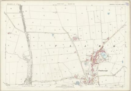 Yorkshire CXXVIII.12 (includes: Bempton; Bridlington; Flamborough) - 25 Inch Map