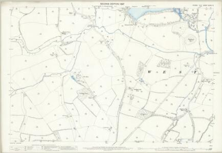 Sussex XXXVII.3 (includes: Shipley; West Grinstead) - 25 Inch Map