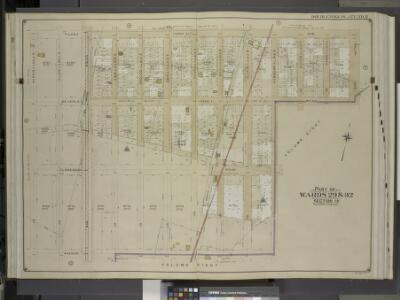 Brooklyn, Vol. 5, Double Page Plate No. 8; Part of    Wards 29 & 32, Section 15; [Map bounded by Tilden Ave., Ralph Ave., Beverley     Road (Avenue B); Including E. 57th St., Avenue D, E. 48th St.]