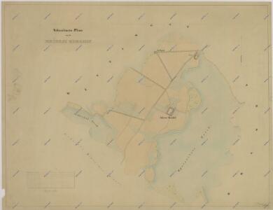 Plán pozemků dvora Vrchy 1