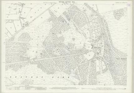 Suffolk XII.4 (includes: Brandon) - 25 Inch Map